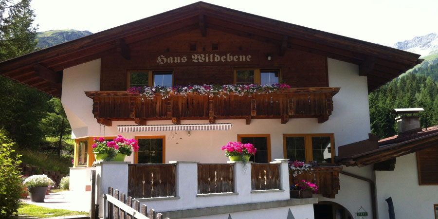appartement haus wildebene in st anton am arlberg sommer